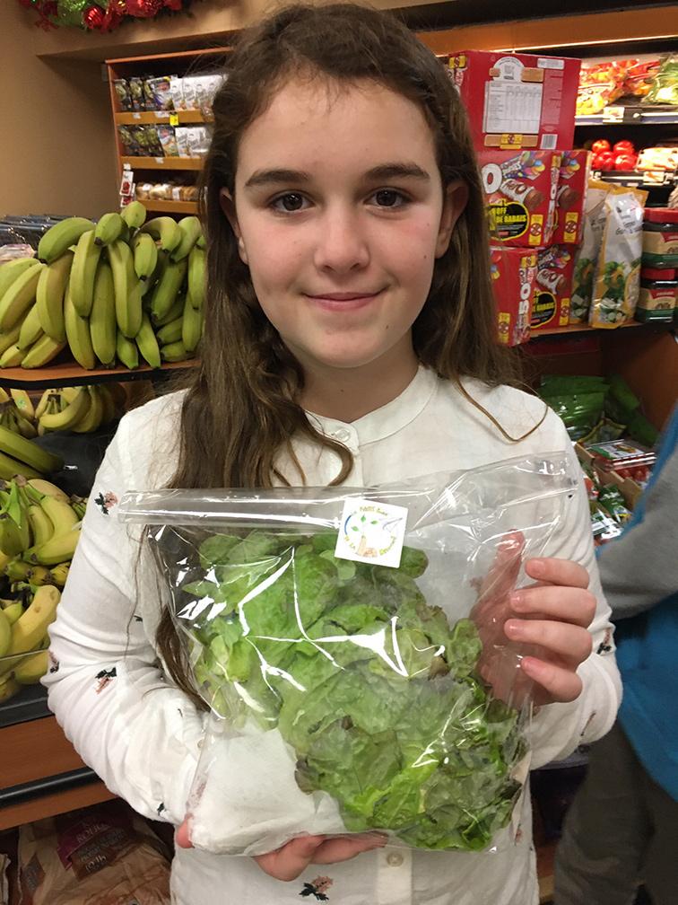 vireo enfant vente salade